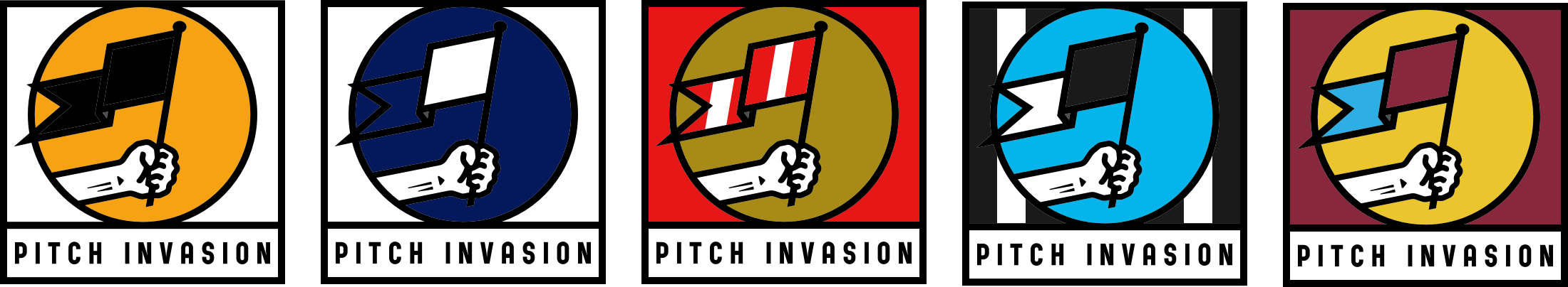 Pitch Invasion logos
