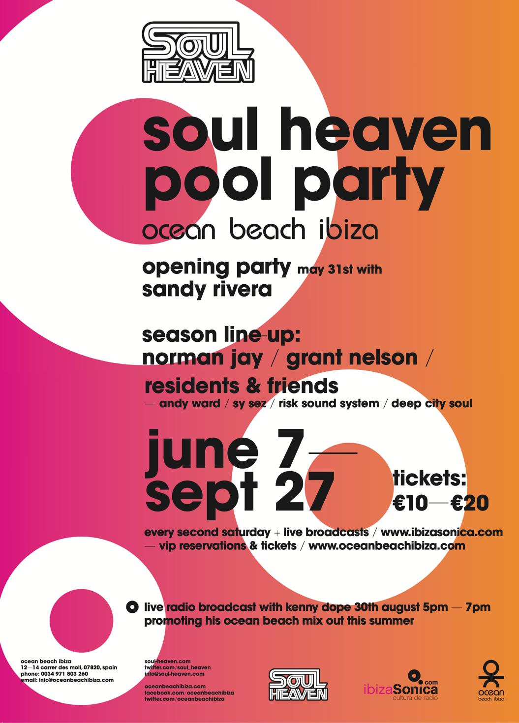 soul heaven at ocb large posters